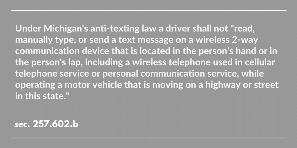 laws against texting while driving should be made stronger Texting while driving should be illegal for several reasons, one being that texting while behind the wheel is just one more distraction yes according to the law texting and driving is actually more dangerous than drinking an driving, because when your texting your mind not only wanders but you.