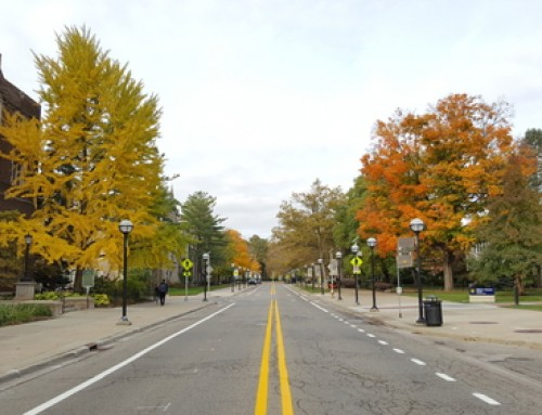 Dangerous Michigan Intersection: University of Michigan's Washtenaw Avenue and Hill Street