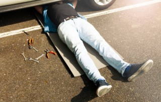 car maintenance injuries
